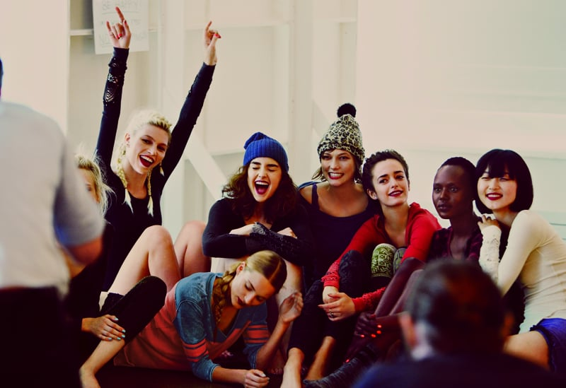 The models photographed by Anna Palma. Photo courtesy of Free People
