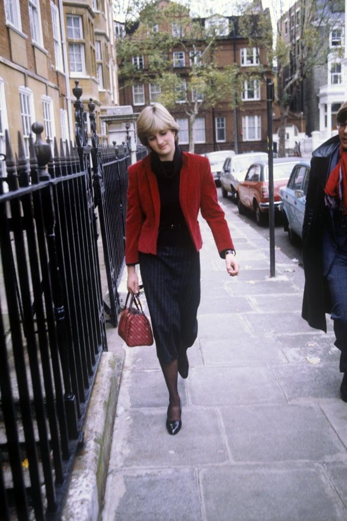 Princess Diana's Velvet Blazer