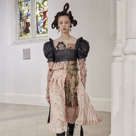 Simone Rocha Fall 2021 Features Patchwork and Regencycore