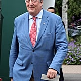 Stephen Fry at Day 2 of Wimbledon