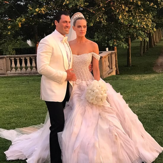 Peta Murgatroyd's Wedding Dress