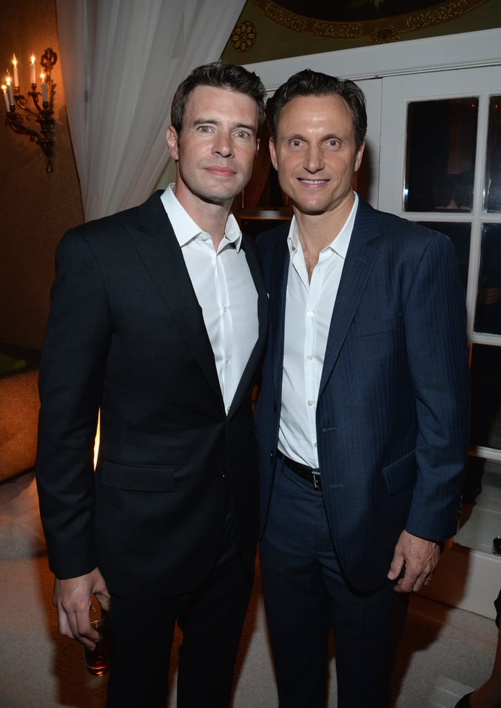 During People and Time's bash on Friday, Scott Foley and Tony Goldwyn showed their complicated friendship on Scandal is just for the cameras.