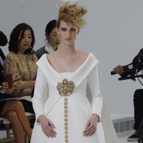 Karl Lagerfeld Had One Woman in Mind at Chanel's Couture Show