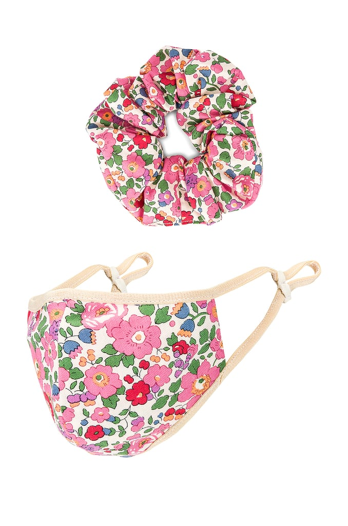 Lovers + Friends Mask Scrunchie Set