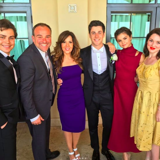 Selena Gomez at David Henrie's Wedding Pictures