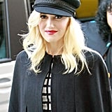 Gwen Stefani wore a hat out in London.