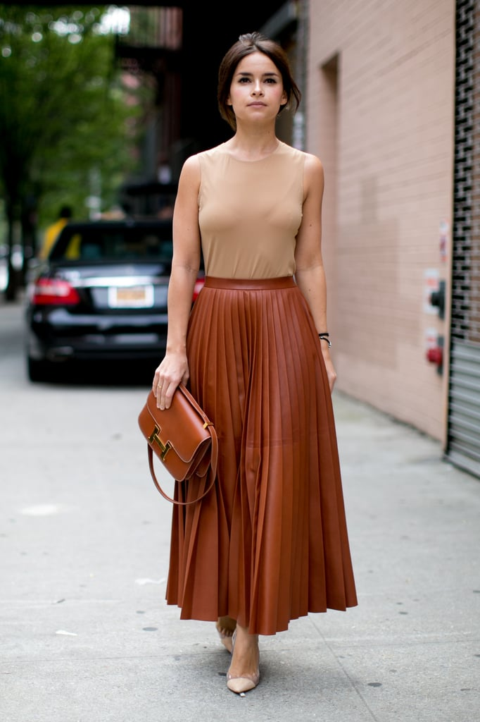 A Neutral Maxi Skirt