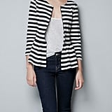 Swap our your favorite striped sweater for this zip-up peplum jacket. Zara Peplum Jacket ($60)