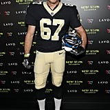 Harry Connick Jr. as a New Orleans Saints Player