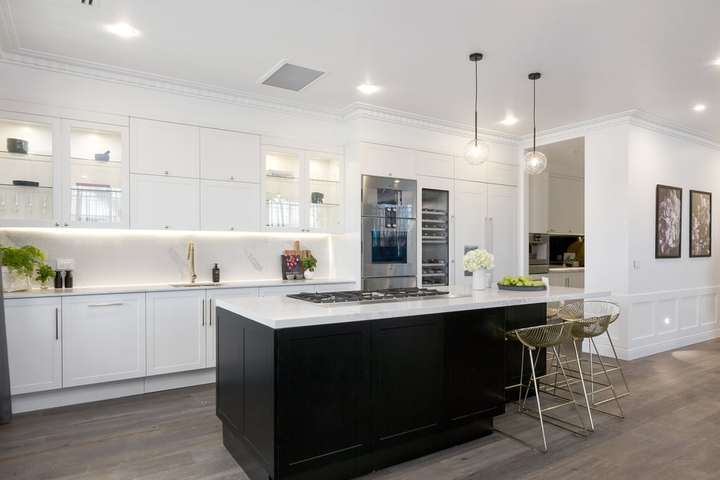 The block 2016 kitchen reveal photos popsugar home australia for Kitchen designs newcastle nsw