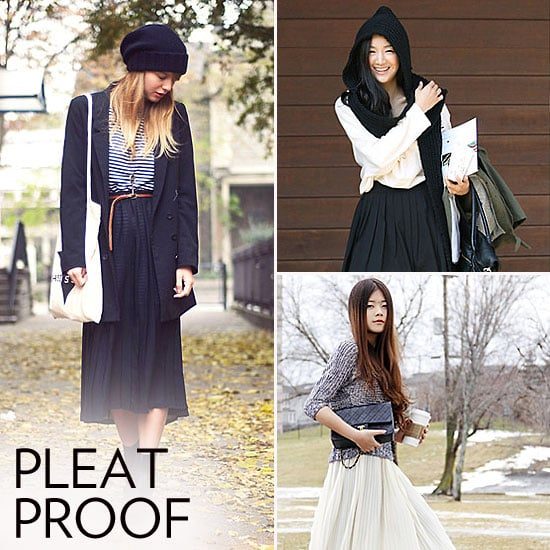 10 Ways to Wear Pleated Skirts From Now Through Spring