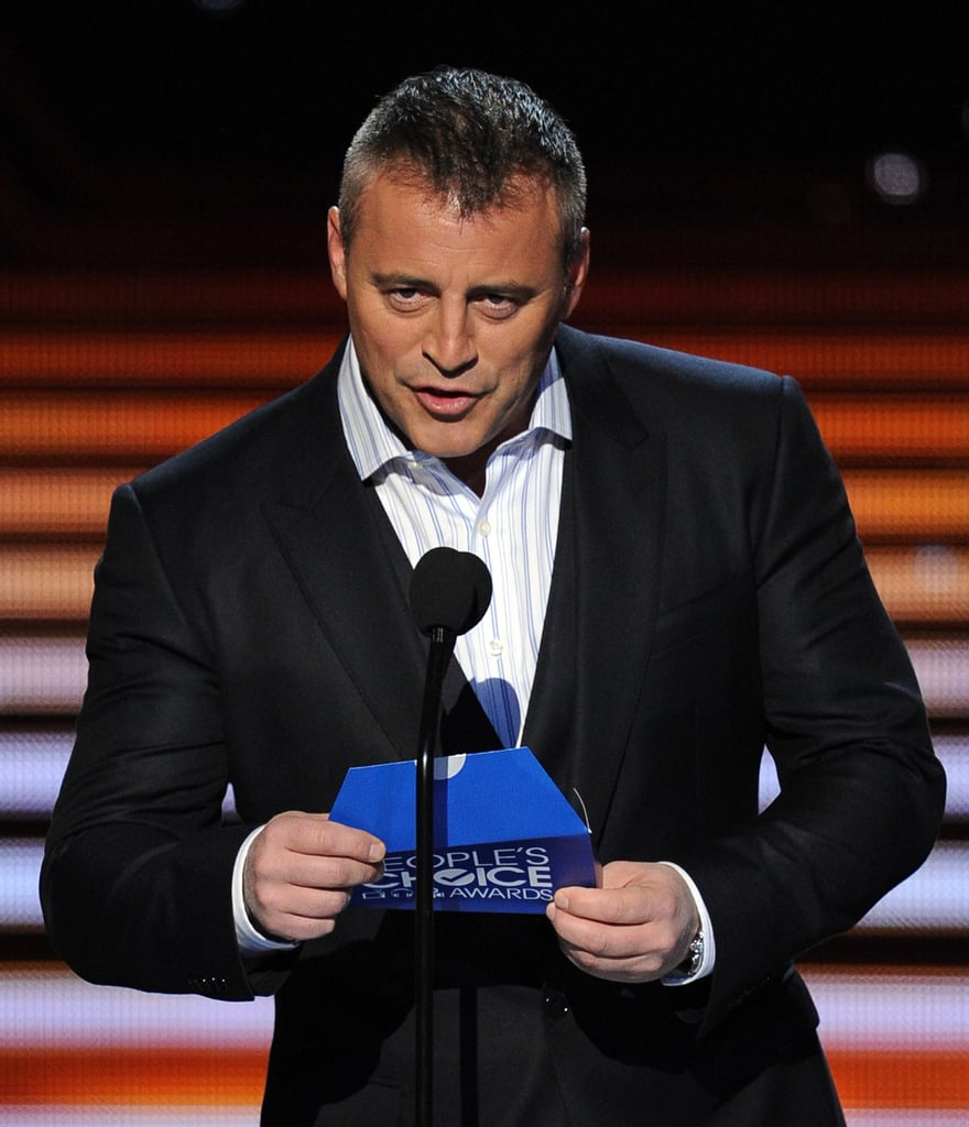 Matt LeBlanc was the last presenter of the night.