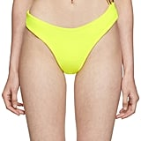 Louisa Ballou SSENSE Exclusive Yellow Surf Trip One-Piece Swimsuit