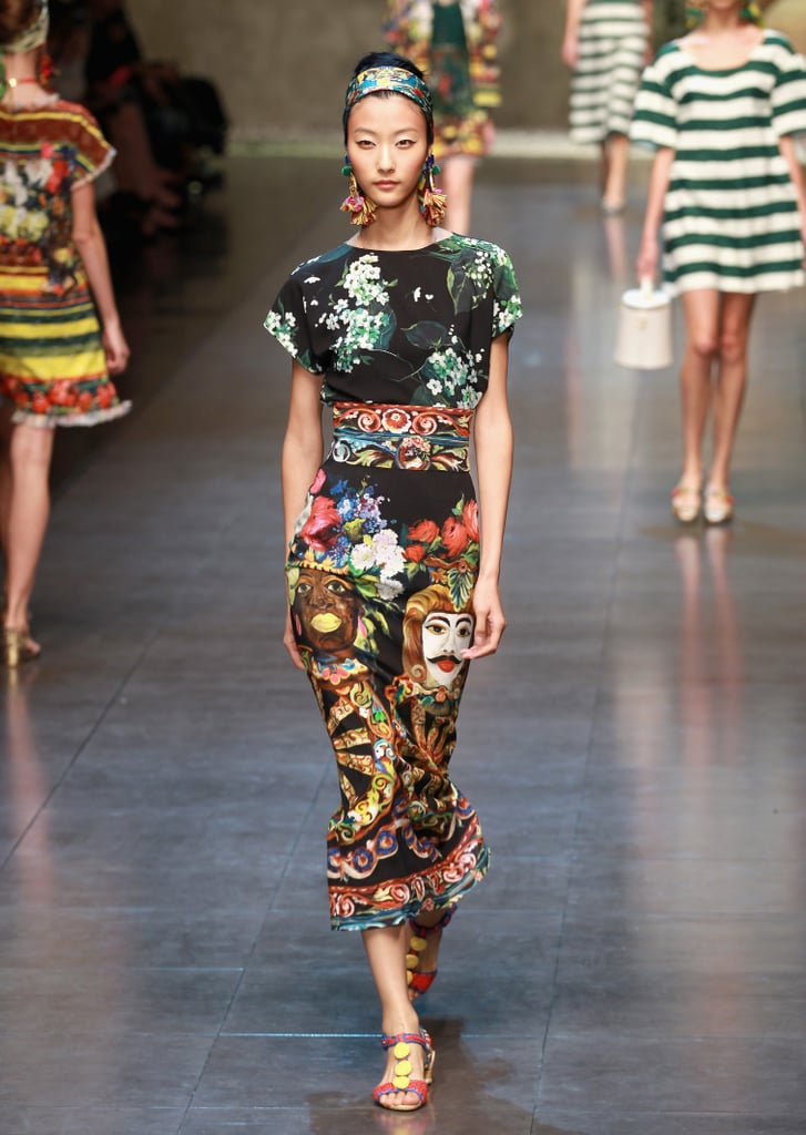 2013 Spring Milan Fashion Week: Dolce & Gabbana