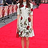 Gemma Chan at the Bad Education Movie Premiere