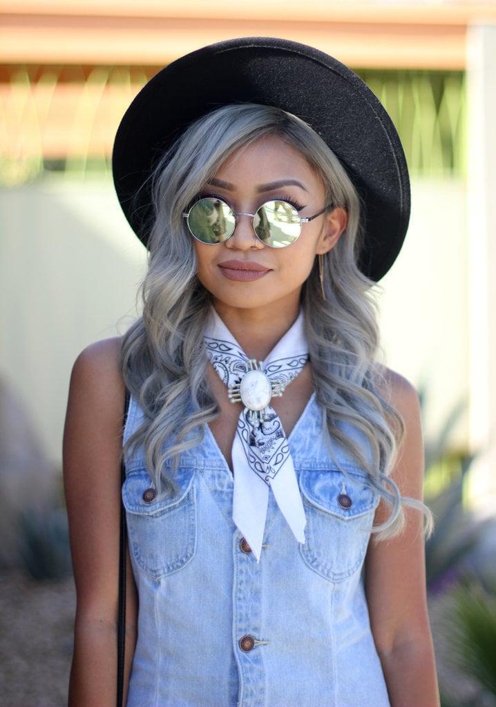 Paisley Bandana Fashion Trend