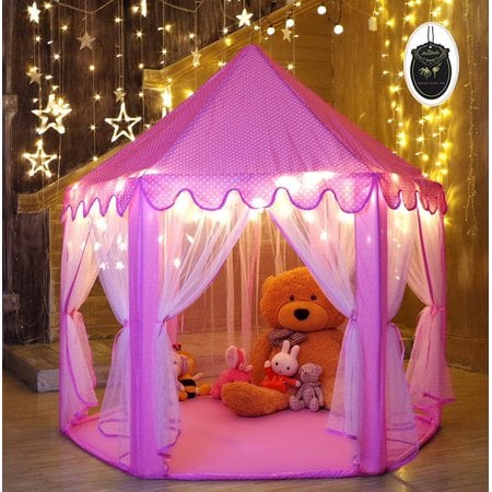 For 4-Year-Olds: MonoBeach Princess Tent