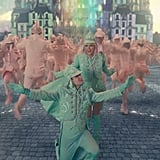Taylor's Green Marching Band Look