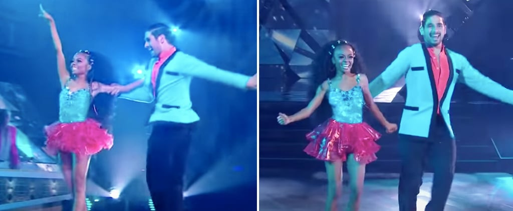 Watch Skai Jackson's Samba Performance on DWTS
