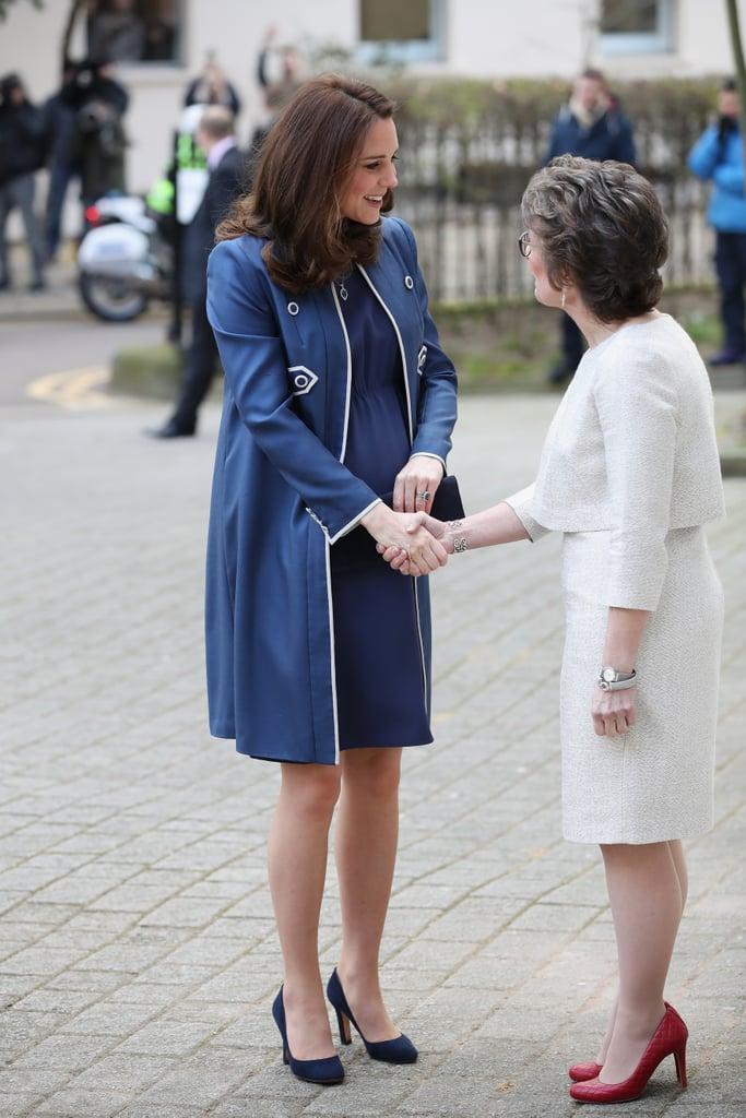 Kate Middleton's Blue Jenny Packham Coat