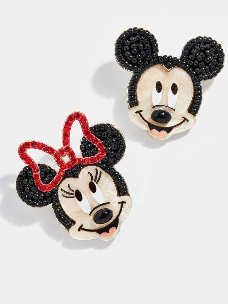 BaubleBar Mickey Mouse and Minnie Mouse Earrings