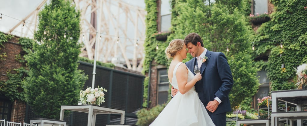 This Elegant Yet Cool Factory Wedding Is Easily One of Our Favorites