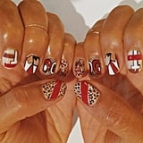 Givenchy-Inspired Nail Art