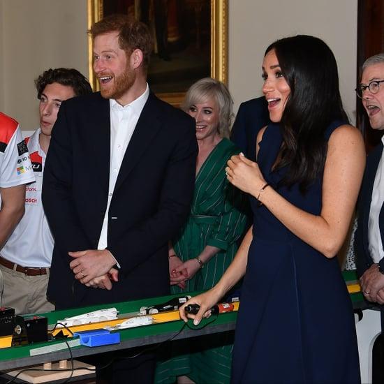 Meghan Markle Gets Scared During Australia Tour