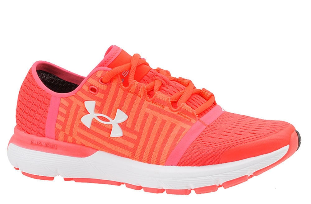 size 40 82888 31e46 Under Armour Speedform Gemini 3 (Women's) | Coral Sneakers ...