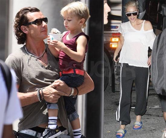 Photos of Gwen, Gavin and Kingston