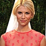 Claire was nearly platinum blond at the 2012 Vanity Fair Oscars party, proving how seamlessly she can swing from one hair hue to another.