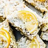 No-Bake Lemon Coconut Paleo Energy Bars