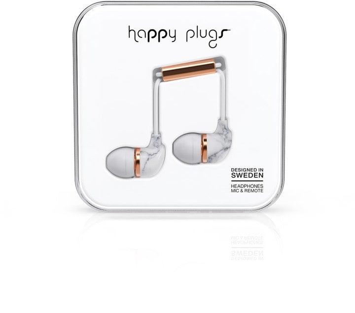 Happy Plugs Marble Deluxe In-Ear Headphones