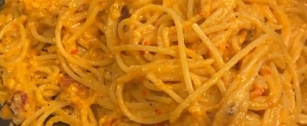 Chrissy Teigen's Spicy Miso Carbonara Pasta Recipe