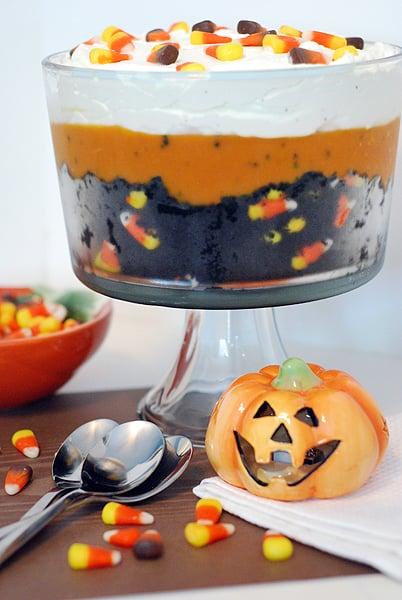 Black Velvet Halloween Trifle