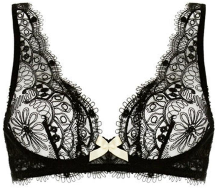 Atelier Bordelle Darted Lace Bra ($344)