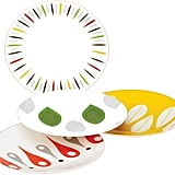 Dansk The Burbs 4-Piece Multicolored Party Plate Set ($20)