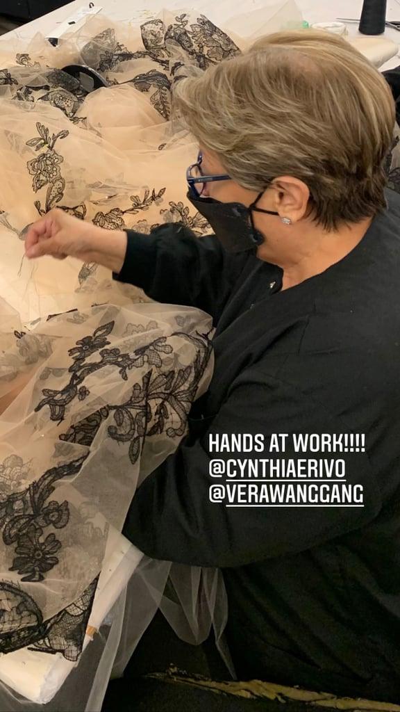 Cynthia Erivo's Custom Vera Wang Gown at the Critics' Choice