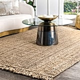 nuLOOM Natura Collection Chunky Loop Jute Rug