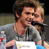 Andrew Garfield happily answered questions from fans.