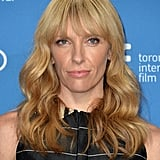 Toni Collette showed off her blond locks and blunt bangs at the Enough Said press conference.