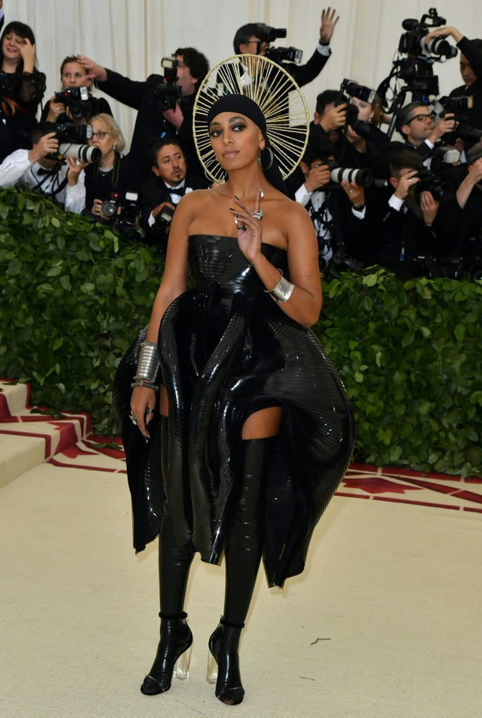 Image result for 2018 met gala Solange