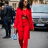 Wear a Crop Top Under Your Bold Power Suit