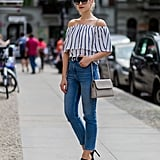 What to Wear With an Off-the-Shoulder Top