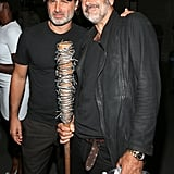 Pictured: Andrew Lincoln and Jeffrey Dean Morgan