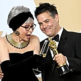 Pictured: Rita Moreno and Sebastián Lelio