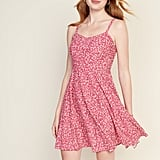 Old Navy Printed Fit & Flare Cami Dress