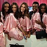 Pictured: Sara Sampaio, Maria Borges, Cindy Bruna, Taylor Hill, and Daniela Braga