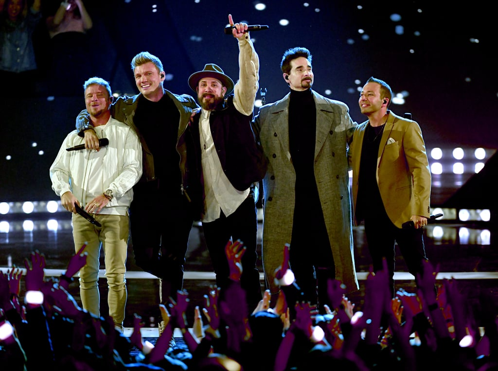 "The Backstreet Boys mixed the old with the new as they performed at the iHeartRadio Music Awards. On Thursday, the group took to the stage to perform their new song ""Chances,"" but things took an unexpected twist when they started singing their 1999 hit ""I Want It That Way."" I'd be lying if I said I didn't scream at my TV screen. Those moves! Those voices! Yep, they've still got it. I, for one, can't wait to scream like a teenager during their DNA tour this Summer!"