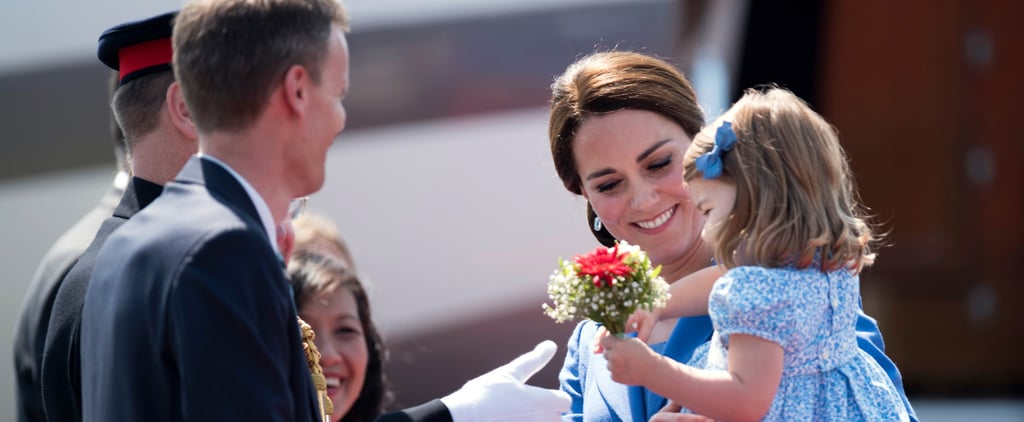 Princess Charlotte Gives Her First Diplomatic Handshake in Germany, and We Are DONE